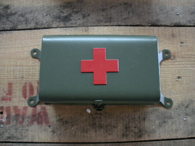 Fiirst-aid-box-green